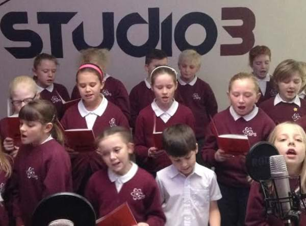 Cramlington pupils record Xmas CD