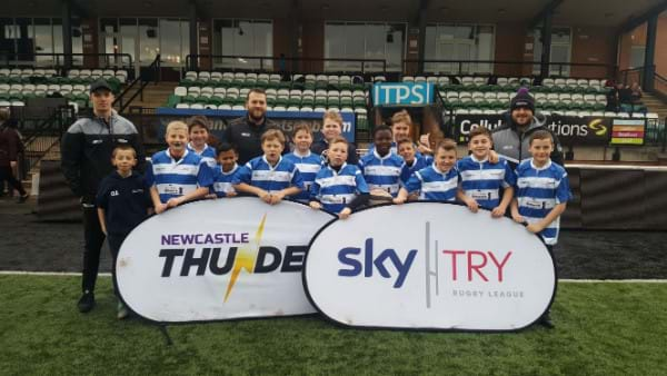 Rugby team set for triumph following school sponsorship!