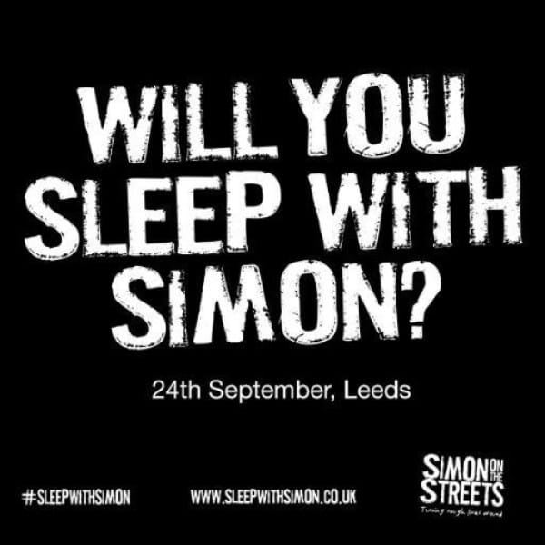 Gavin Supports Simon On The Streets Charity