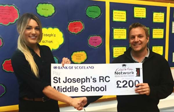 St Josephs Middle School Success and Sponsorship
