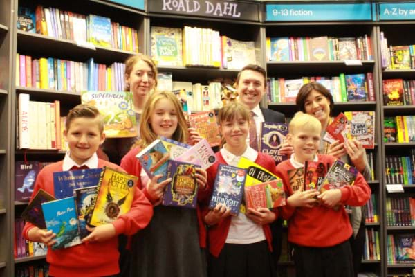 Cramlington pupils take part in reading project