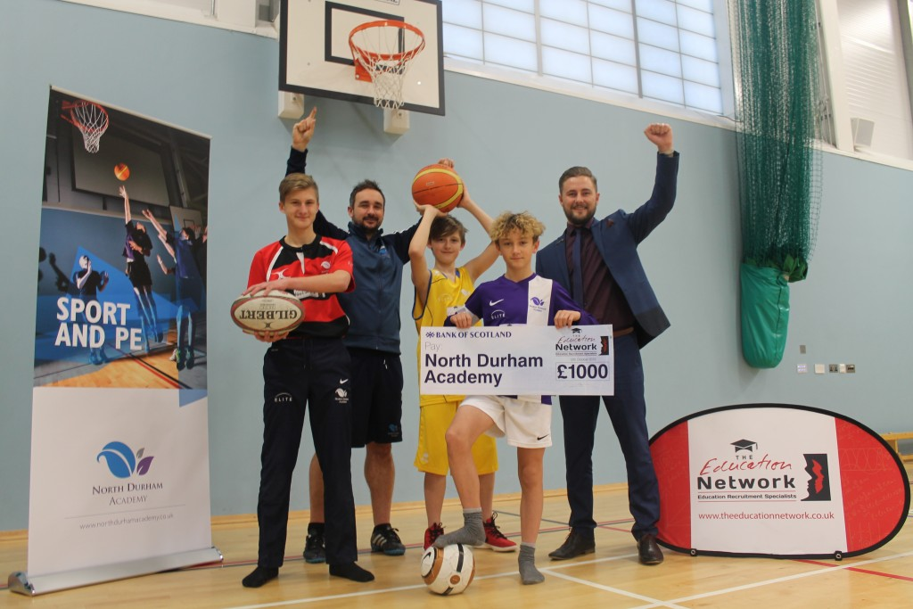 North Durham Academy gain £1000
