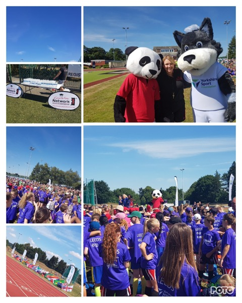 Spectacular scenes from the West Y­­orkshire Summer Games!