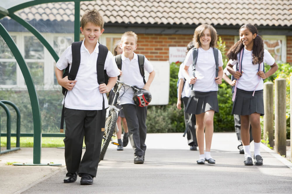 Reasons your child should walk to school